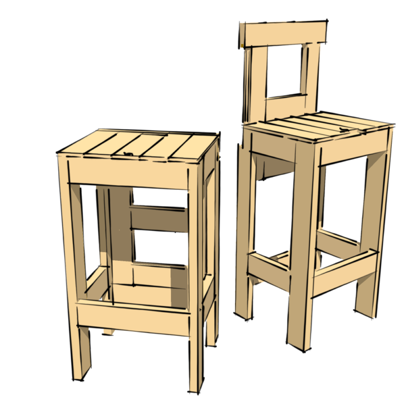 wicked cool stool